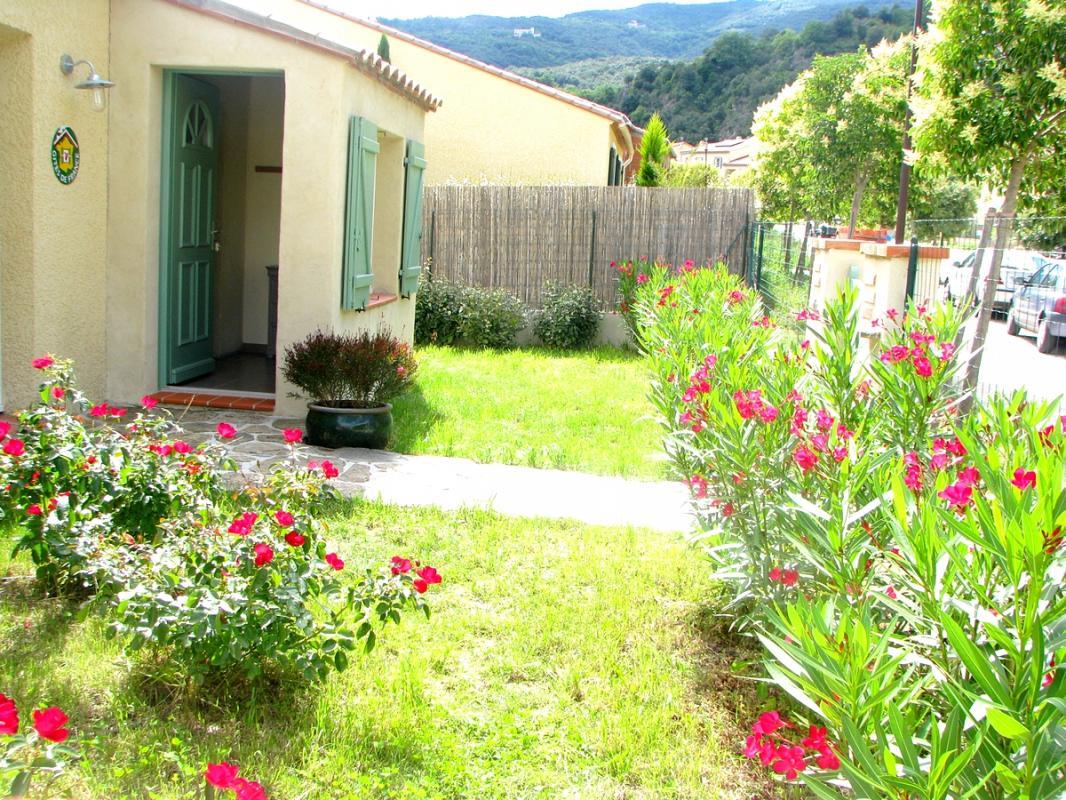 Jardin Gîte Rural Amélie les Bains - Gîtes de France